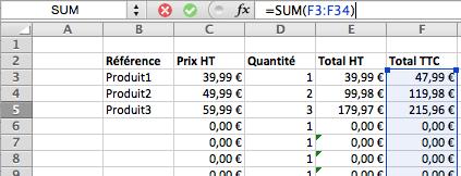 Comment Calculer La Tva Sur Excel